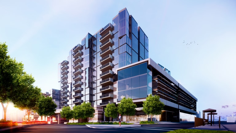 An artist's impression of Salta's new build-to-rent project at Victoria Gardens.