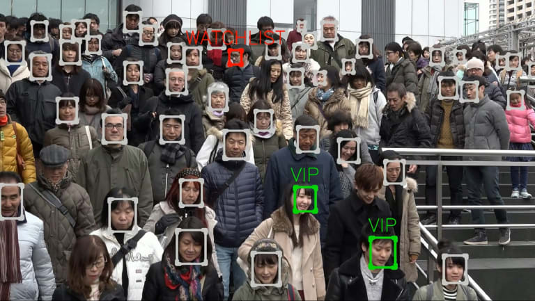 NEC's new technology can match faces to a database of billions, virtually instantly.