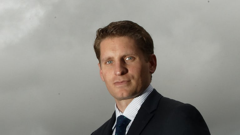 Liberal MP and former SAS officer Andrew Hastie.