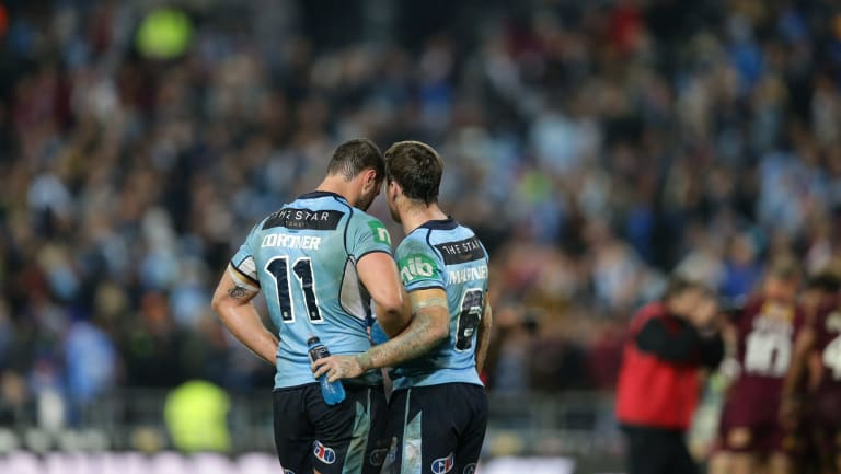Captain Boyd Cordner and James Maloney are one of only four players considered a lock for Origin I.