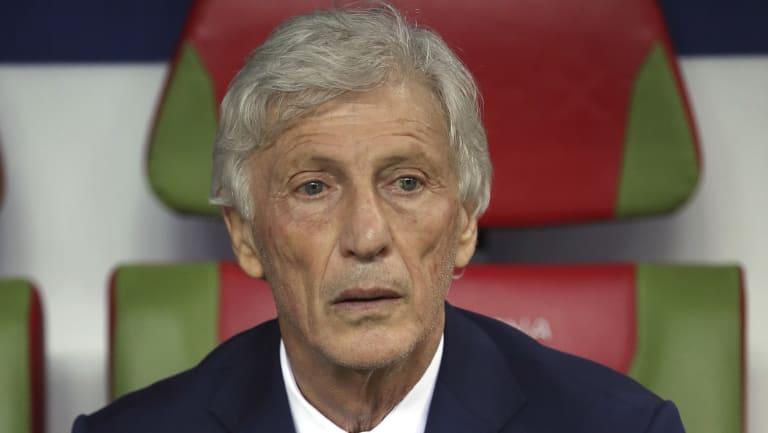Colombia coach Jose Pekerman.