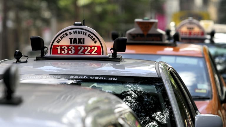 The value of taxi licences has dropped by almost 80 per cent in Brisbane in just three years.