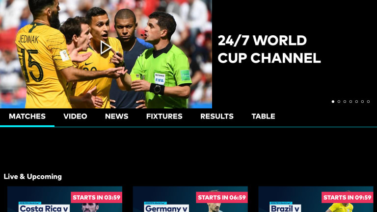 Weeks after Optus' World Cup app failed to deliver, Telstra has launched a tech-solution for streaming on its AFL app.