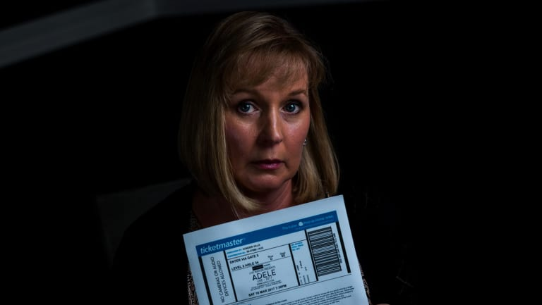Consumer Simone Mohr lost $3000 to ticket scalpers after buying Adele tickets from Viagogo last year.