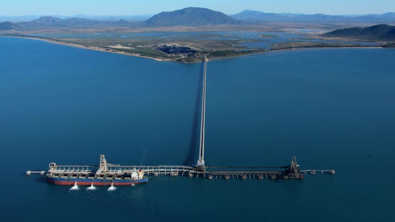 Abbot Point on the Queensland coast.