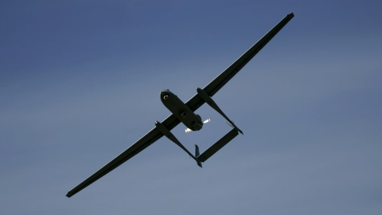 Israel shot down an Iranian drone it said was armed.