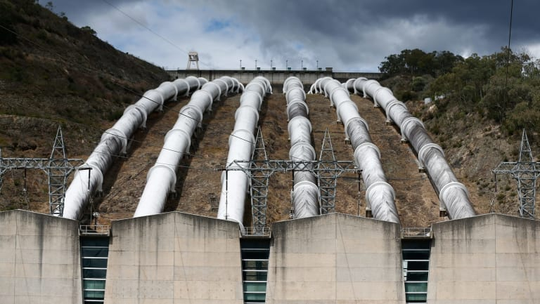 Snowy Hydro's Tumut 3 power station in Talbingo, NSW, near the site of the proposed 2.0 pumped hydro plant.