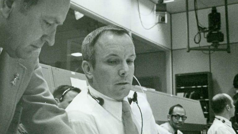 Apollo Mission Control flight director Gerry Griffin.