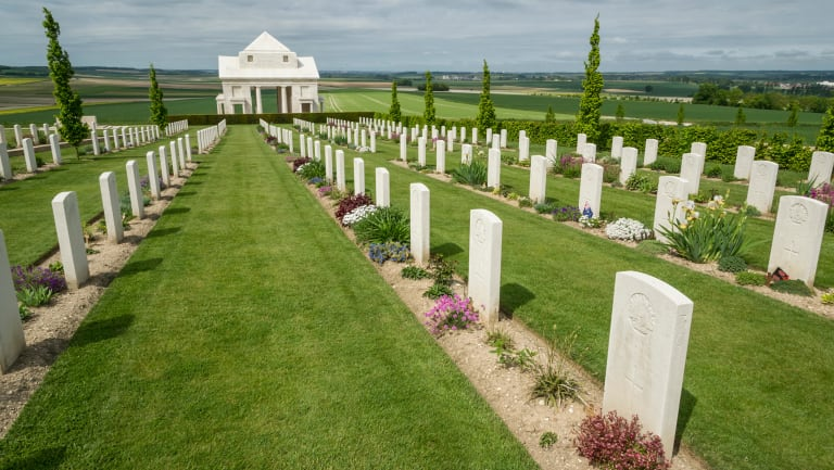 The Somme Villers-Bretonneux Australian National War Memorial.