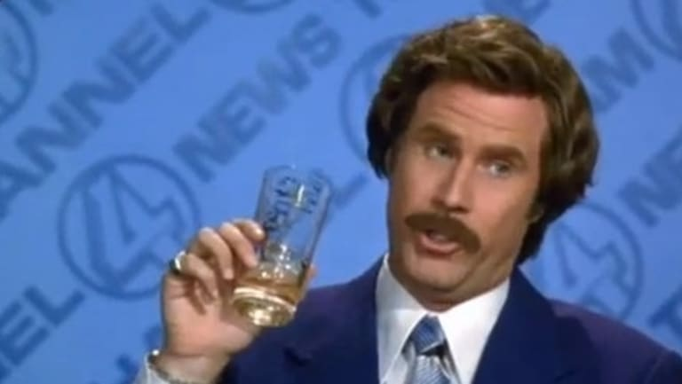 "It was whisky connoisseur and known sexist, Ron Burgundy in the movie <i>Anchorman</i> who said, ""I love scotch. Scotchy scotch scotch. Here it goes down, down into my belly""."