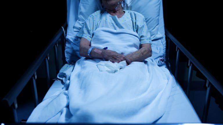 A 69-year-old man who had been living in a nursing home died in 2013 from septic shock (file picture).