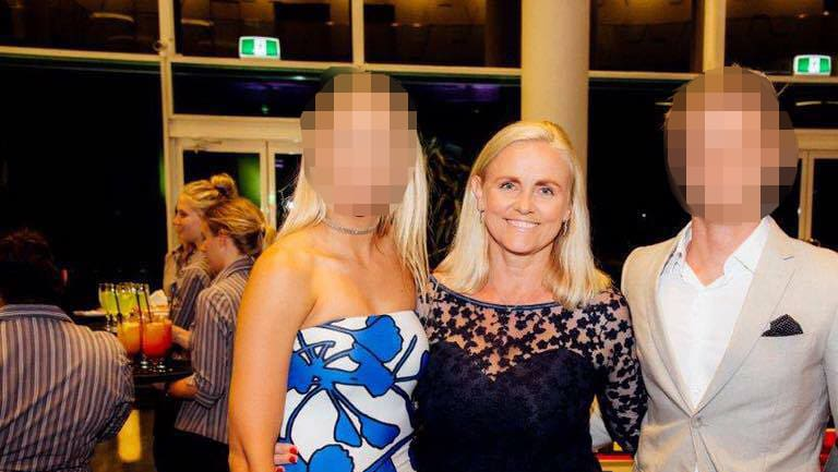 Former Retail Food Group executive Alicia Atkinson, centre, disputes the tax bill the ATO slapped on her private group Exit 57 Investments.