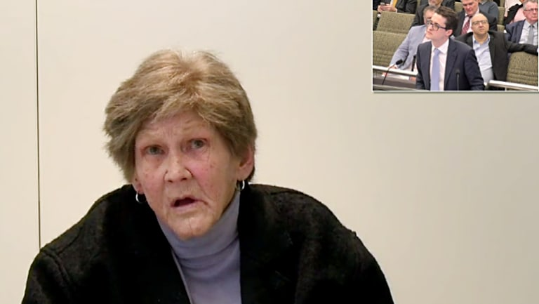 Carolyn Flanagan, who appeared before the royal commission on Monday.