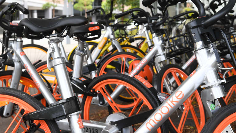 Mobike bikes in Sydney: The company's rapid expansion is a story of the New China, where tech parvenus amass riches at mind-boggling speed.