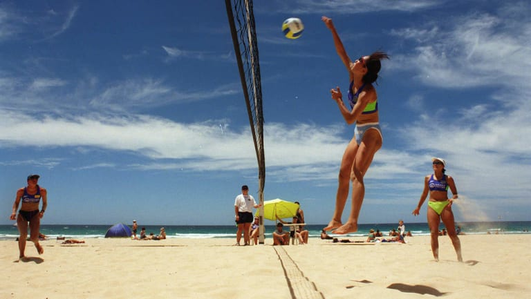 The Commonwealth Games organisers have had to import sand to the Gold Coast to bring the coarseness up to regulation for beach volleyball.