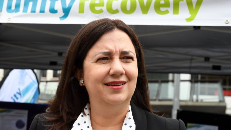 Queensland Premier Annastacia Palaszczuk announces the government's response to the CCC's Operation Belcarra report.