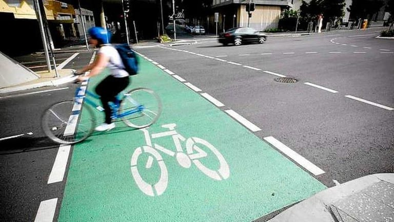 Painted bike lanes are a step in the right direction but don't provide a significant increase in safety.