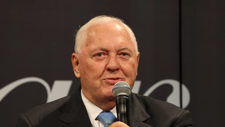 Controversial businessman Alan Bond.