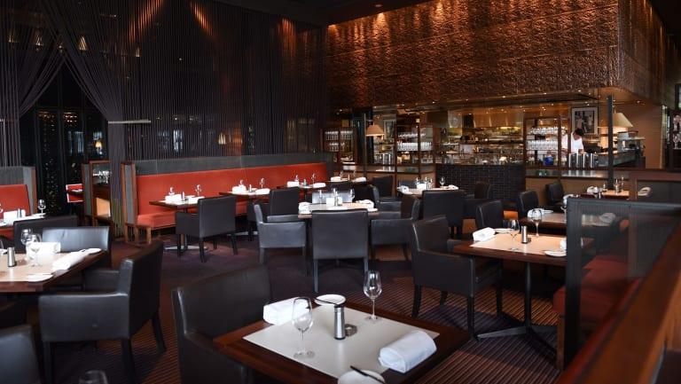 Rockpool restaurant at Crown Entertainment Complex.