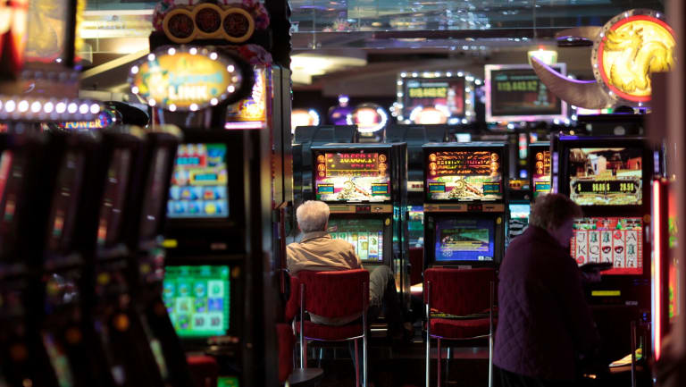 Poker machines: The ACT government has tabled its planned 50 per cent tax cut for gambling taxes, with the benefits going to only seven clubs in Canberra.