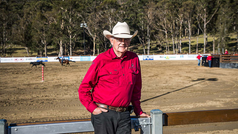 Canberra businessman Terry Snow has taken campdrafting to the next level competitors say.