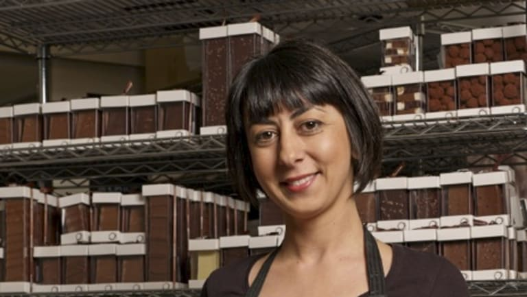 Christina Tantsis is the owner of Sisko Chocolate.