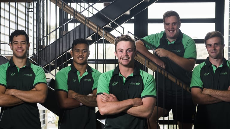 Canberra players Isaiah Latu, Len Ikitau, Ryan Lonergan, Tom Ross and Mack Hansen will be playing in the Australian under-20s team at the junior World Cup.