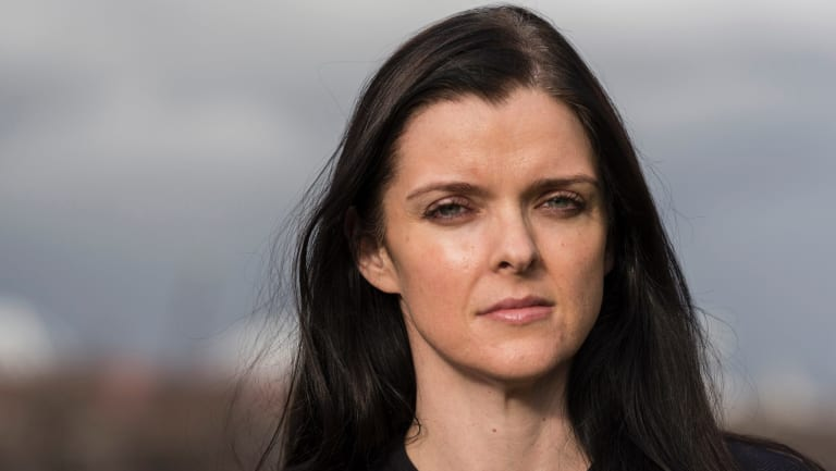 Amber Harrison returns to corporate life after the scandal of her affair with married Seven CEO Tim Worner.