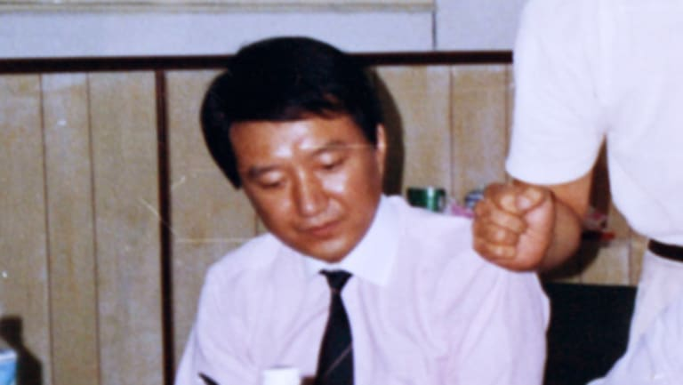 Former Rio Tinto executive Stern Hu has been released after nine years in prison in China.