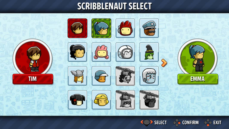Showdown does have a cute but simple character creator, so you can take your own avatar to the party.