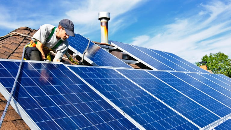 Sunverge chief executive Ken Munson said Australia's high penetration of rooftop solar, where one in five homes use power from the sun, put the country at the forefront of the transforming energy industry.