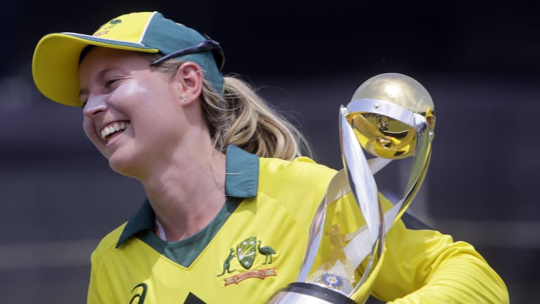 Off to India: Meg Lanning hopes a women's IPL tournament is not far off.