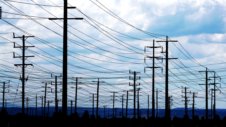 A lack of transmission and poles and wires could leave new wind and solar farms unable to provide power into the grid.