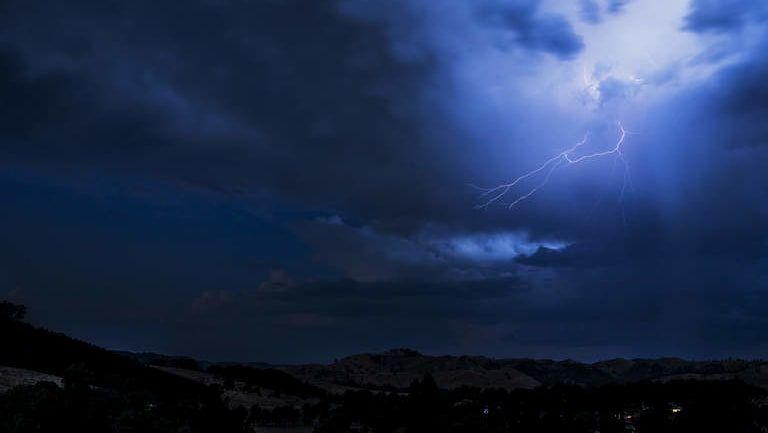Severe storms are a possibility in the state's north-east.