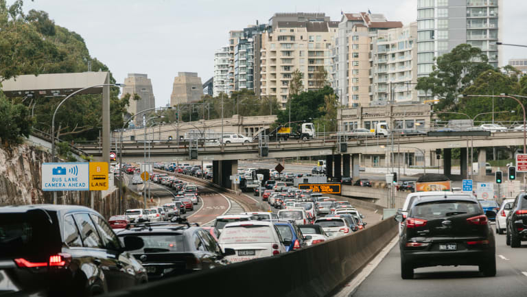 Sydney has worse congestion than other similar-sized cities.