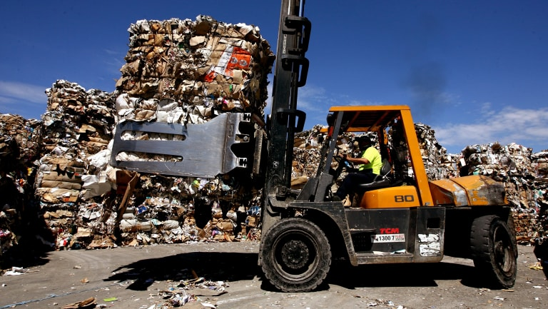 The government will seek to procure more recycled materials to resolve a nationwide crisis.