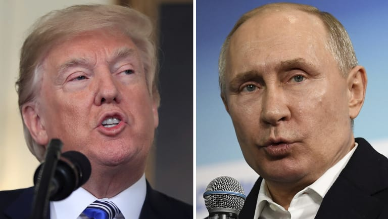 US President Donald Trump and Russian leader Vladimir Putin are due to meet next week.