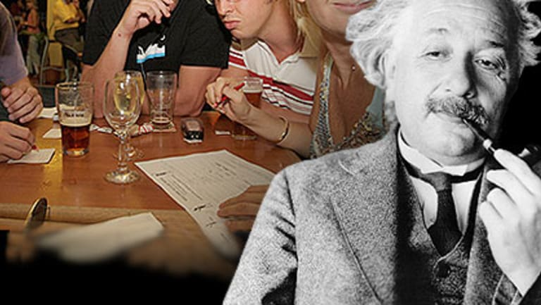 Winning at pub trivia nights does not make you an Einstein.