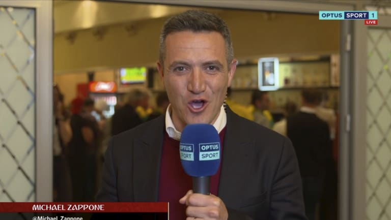 Optus' live stream for the World Cup suffered from technical issues.