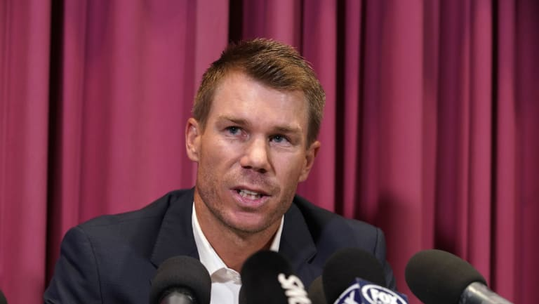 Frontman: David Warner was vocal in players' fight for revenue share.