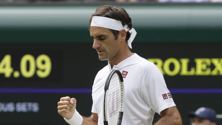 Roger Federer knows what it takes to win.