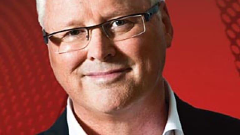 Tony Jones, presenter of the ABC's <i>Q&A </i>program.
