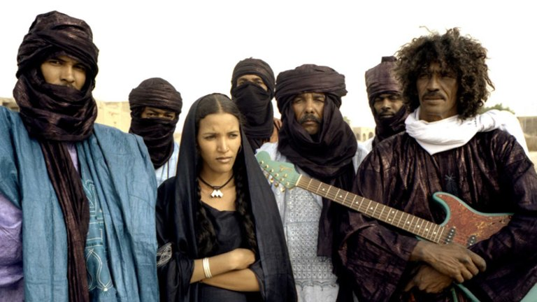 African musicians stand together as Islamist rebels stifle ancient