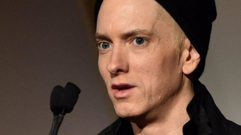 Eminem makes headlines over his 'haggard and gaunt' face