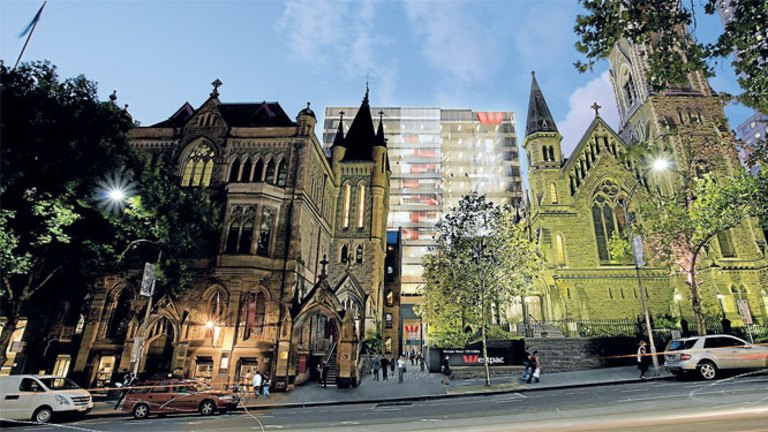Westpac high finance tower honours sacred site's heritage