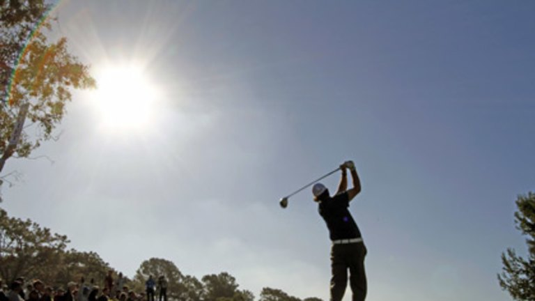 Hot Allenby best on toughest course