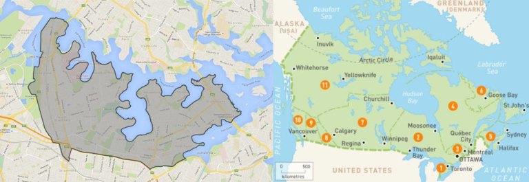 Canada Bay Sydney Map Why Sydney's Canada Bay looks a whole lot like  well, Canada