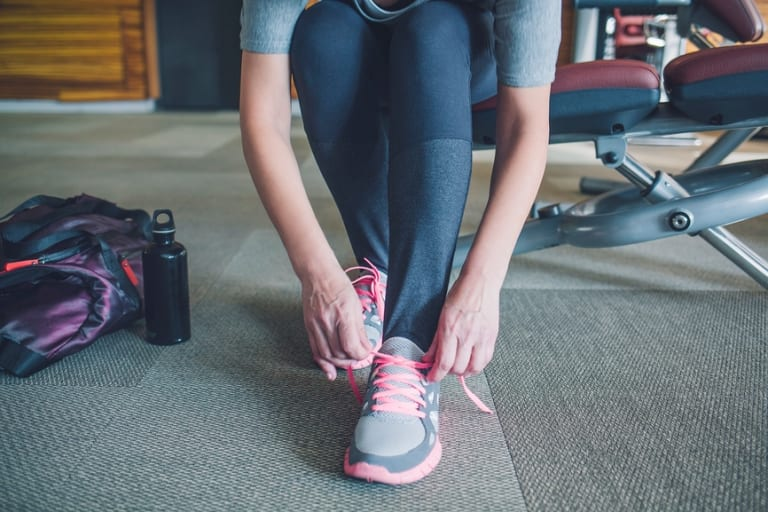 A 2017 Vic Health survey found 40 per cent of women feel embarrassed to exercise in public.