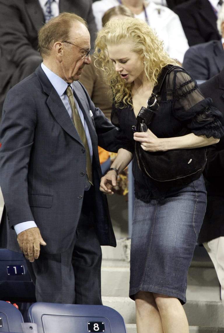 Kidman and Murdoch have been friends for many years. Pictured here in 2005.