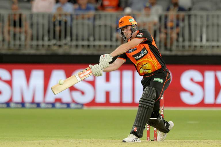 In form: Scorchers batsmen Ashton Turner.